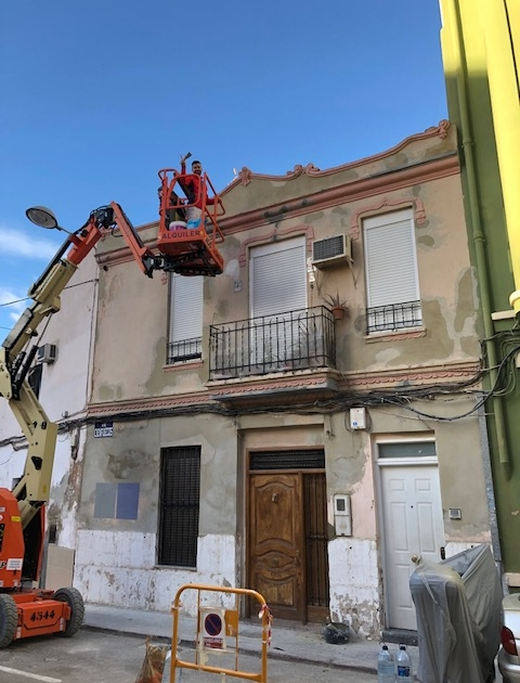 rehabilitación fachada