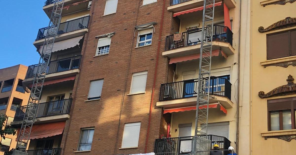 rehabilitación edificios - fachada